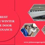 The best 5 tips for winter garage door maintenance