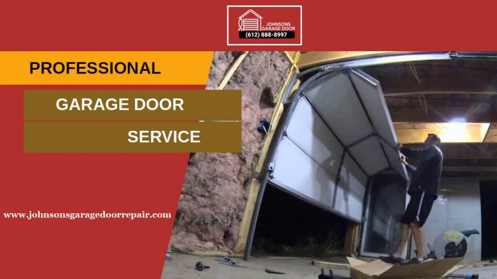 professional garage door service