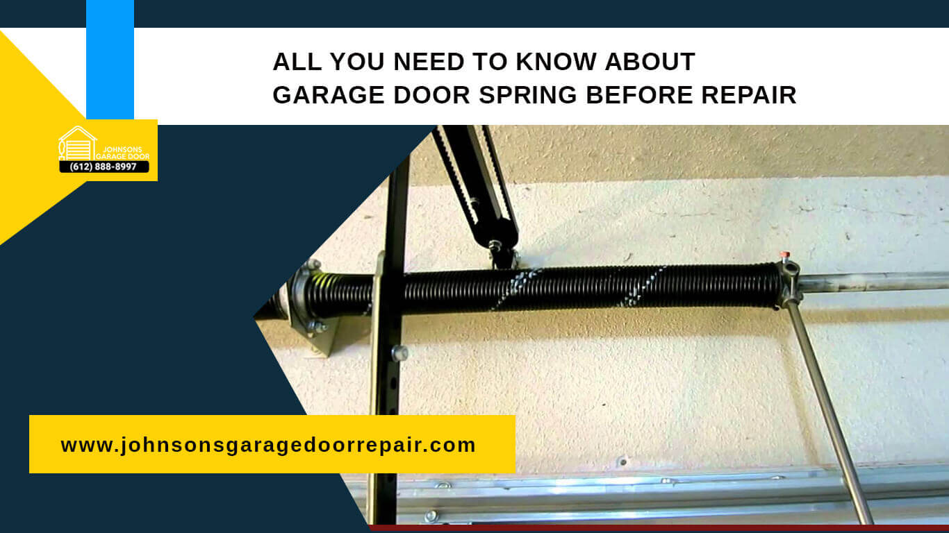 All You Need to Know About Garage Door Spring Before Repair