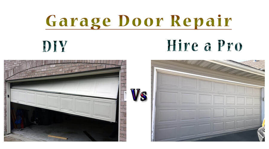 diy and professional garage door repair