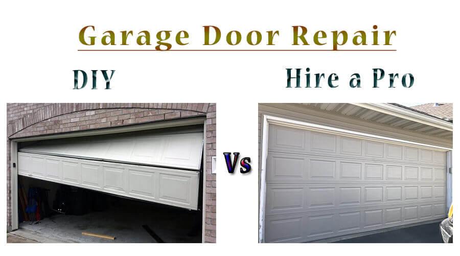 diy and professional garage door repair