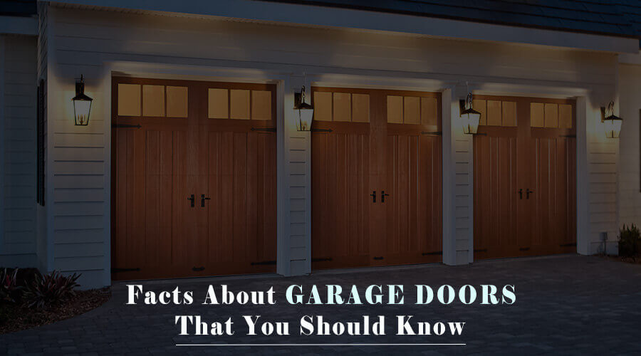 facts about a garage door