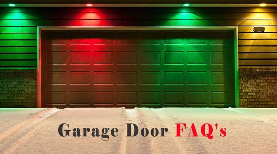 Garage Door FAQ's