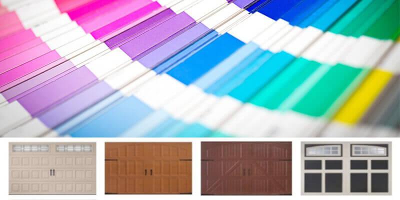 Colour of a Garage Door