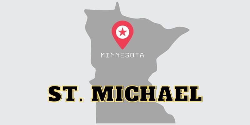 St. Michael garage door repair service