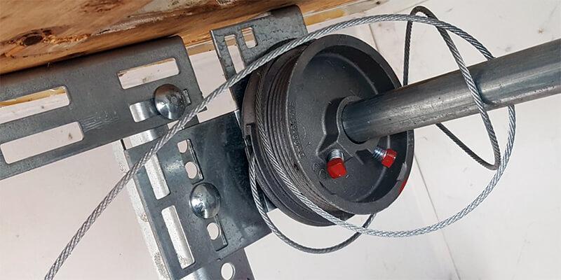 garage door cable snapped repair - Johnsons Mobile Garage Door Repair